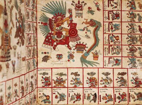 Codex Borbonicus, 'Tonalamatl',