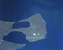 Peninsula Valdés, foto scattata durante la missione Shuttle mission STS-68