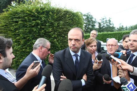 Il segretario del Pdl, Angelino Alfano