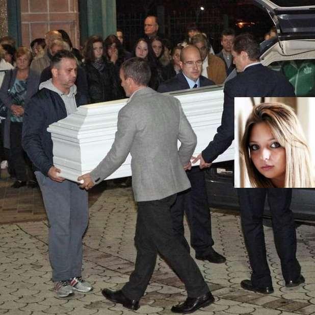 Il funerale di Federica