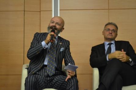 Mario Mauro e oscar Giannino