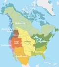 Aree culturali dei Nativi Americani al momento del contatto con gli Europei