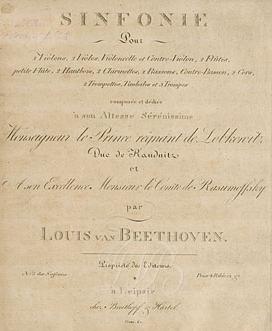 Beethoven-Deckblatt