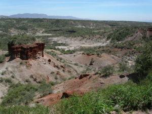 La gola di Olduvai in Tanzania