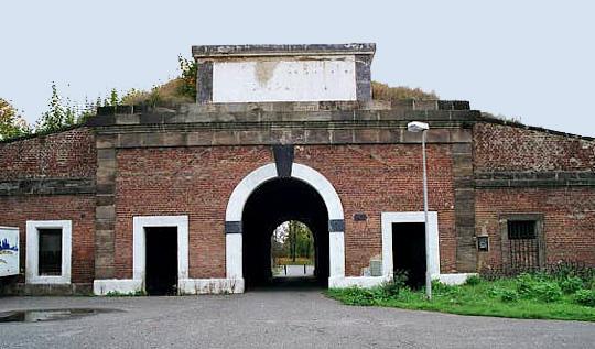 L'ingresso del ghetto di Theresienstadt