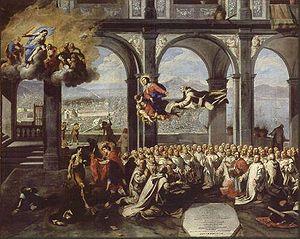 Micco Spadaro- Rendimento di grazie dopo la peste