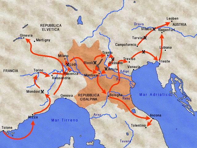 La Campagna d'Italia di Napoleone