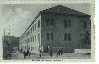 La caserma sede del 91° Battaglione Lucania a Potenza