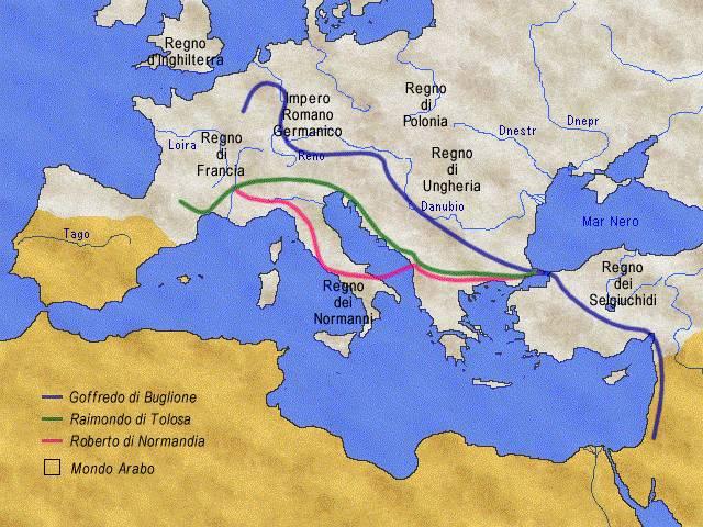 Itinerario Crociata