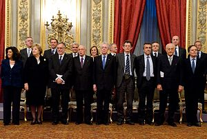 300px-Monti_Cabinet_with_Giorgio_Napolitano