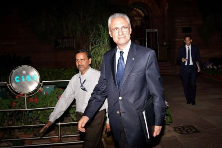 Daniele Mancini, ambasciatore italiano in India. (© Getty Images)