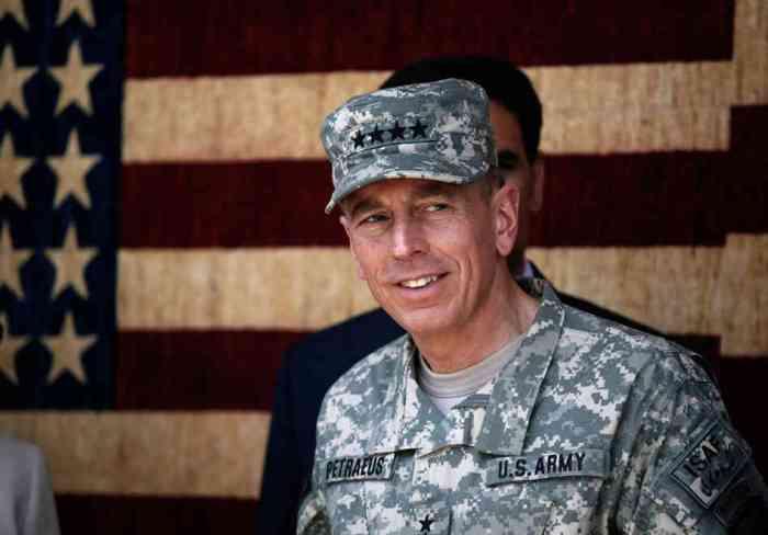 Il generale David Petraeus