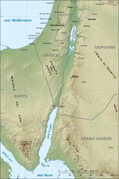 Localizzazione di Petra