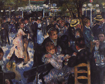 Bal au moulin de la Galette  - Renoir