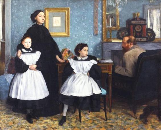 La Famiglia Bellelli - Degas