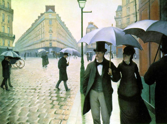 La place de Europe  - Gustave Caillebotte