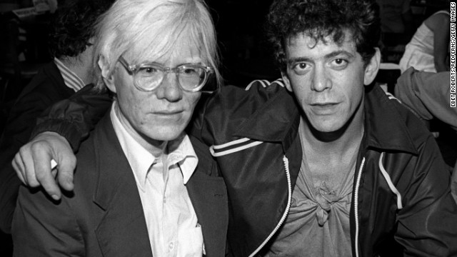 Andy Warhol and Lou Reed