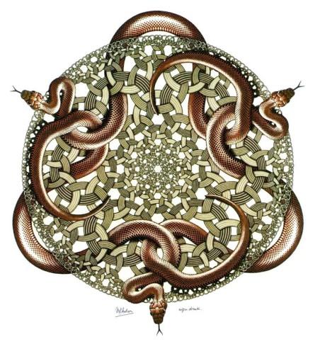 Escher- Serpenti