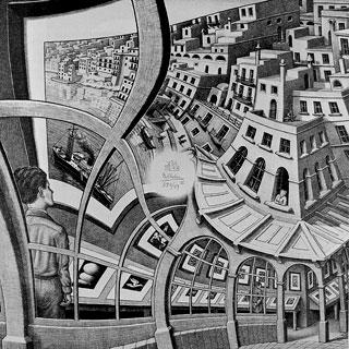 Esposizione di Stampe Maurits C.Escher 1956, Litografia
