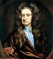 1675 Teoria corpuscolare della luce di I. Newton. Tuttavia la teoria di Newton è più articolata e contiene anche elementi ondulatori, in quanto i corpuscoli della luce eccitano vibrazioni nei corpi. Egli infatti è al corrente sia degli esperimenti di Grimaldi sia, ovviamente, degli anelli di Newton.