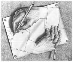Escher- Drawing Hands