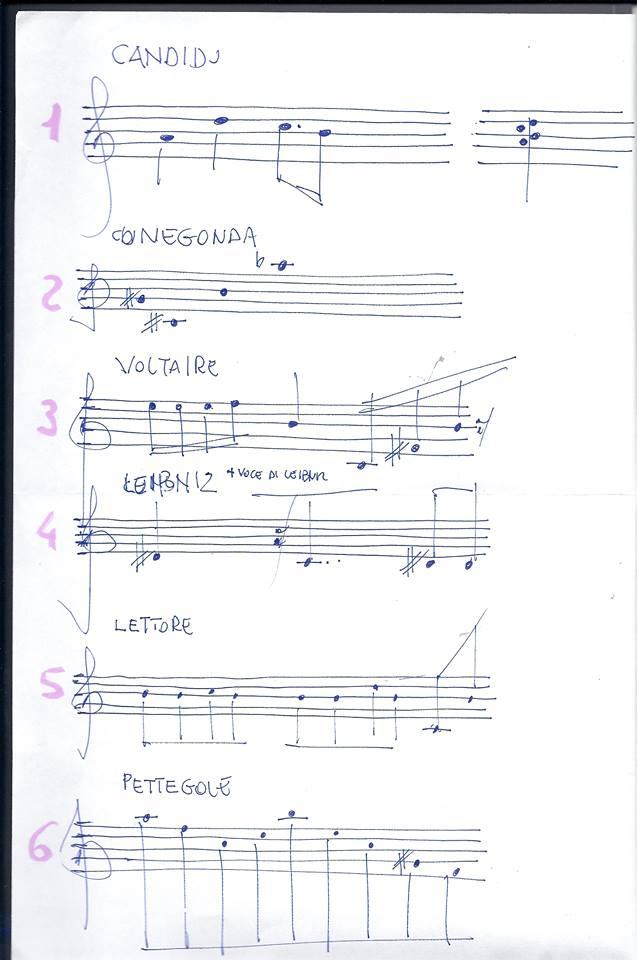 Canovaccio musicale